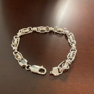 (SOLD) 925 Italy sterling silver bracelet